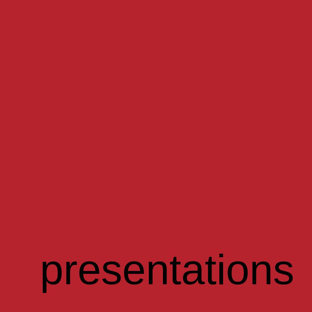 presentations @PlaRoig #Barcelona