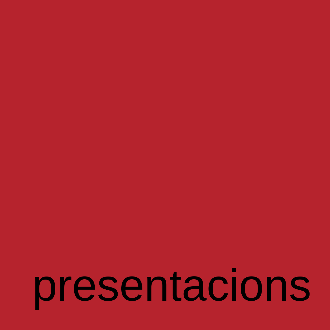 plaroig presentacions